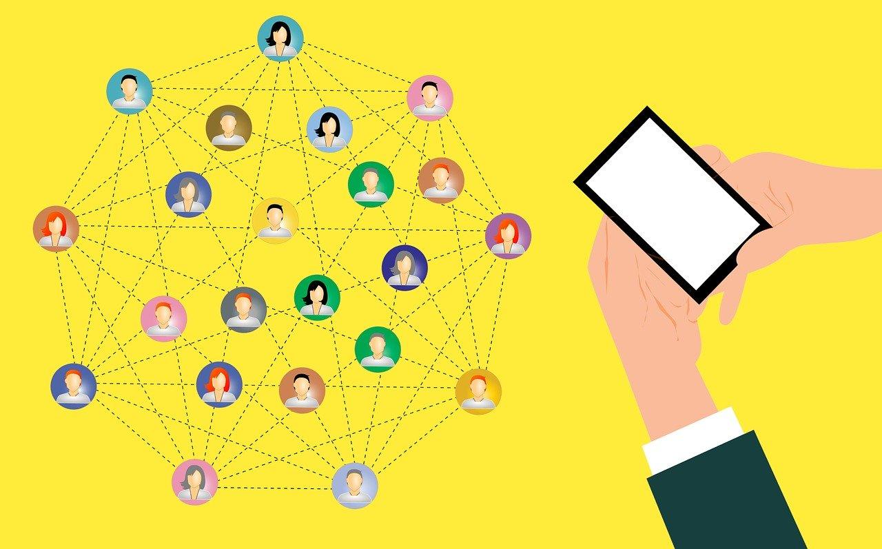 comment partager sur les réseaux son code de parrainage ?