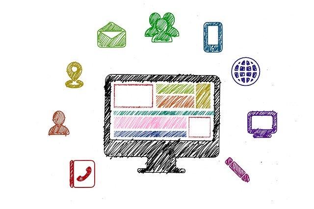 partage de code sur médias sociaux