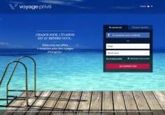 site de vente voyage privé