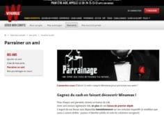 code parrainage pour le site winamax